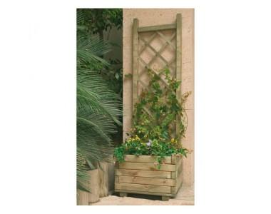 Jardinera cuadrada con celos a recta gardennova - Celosia con jardinera ...