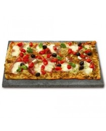 Pedra rectangular pizzes per barbacoes gas